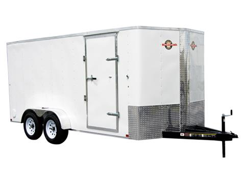2018 Carry-On Trailers 7X16CGRBN in Marietta, Ohio
