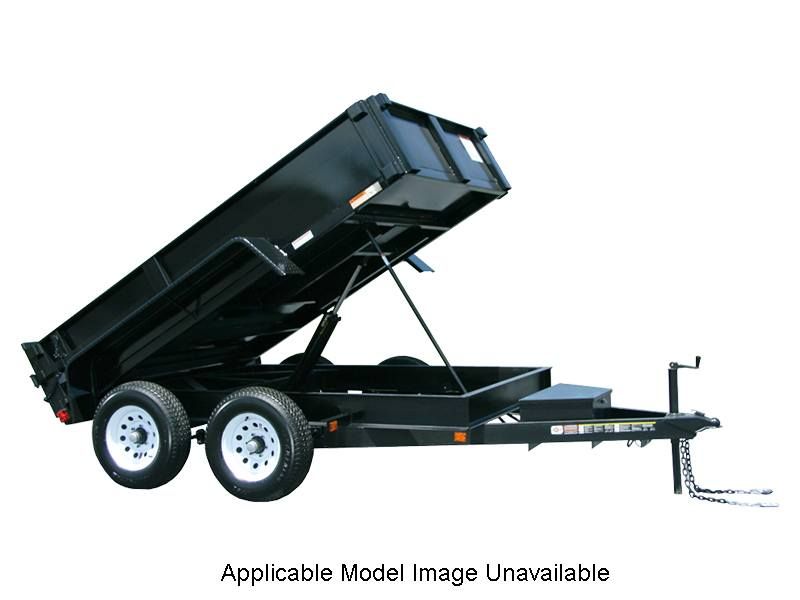 2018 Carry-On Trailers 6X10DUMPLP10K-24HS in Saint Johnsbury, Vermont
