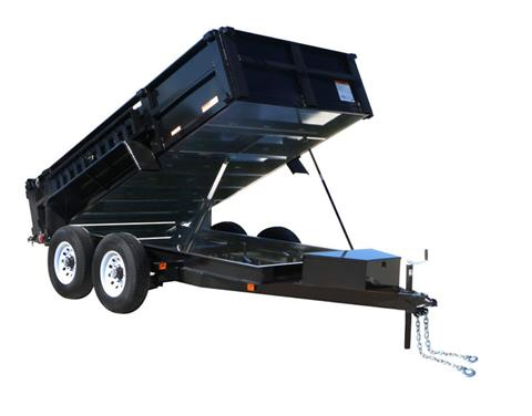 2018 Carry-On Trailers 6X12DUMPLP12K-24HS in Brunswick, Georgia