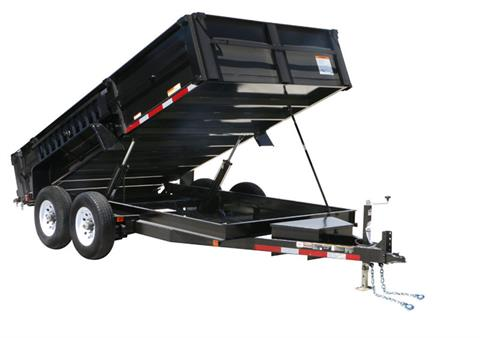 2018 Carry-On Trailers 7X14DUMPLP14K-24HS in Brunswick, Georgia