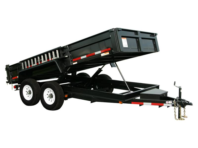 2018 Carry-On Trailers 7X14DUMPLP14K in Brunswick, Georgia