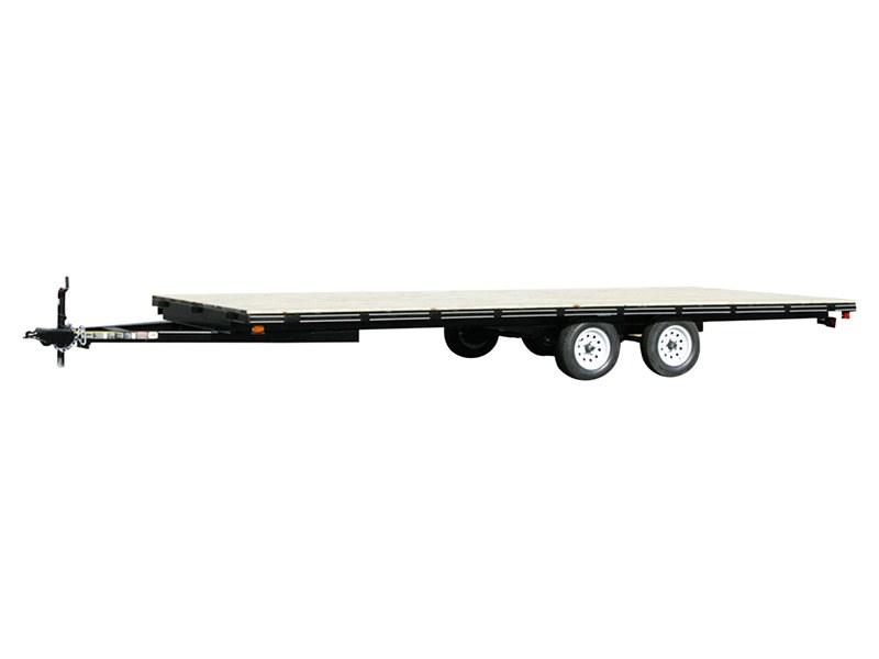 2018 Carry-On Trailers 8X20DO-LOB in Saint Johnsbury, Vermont