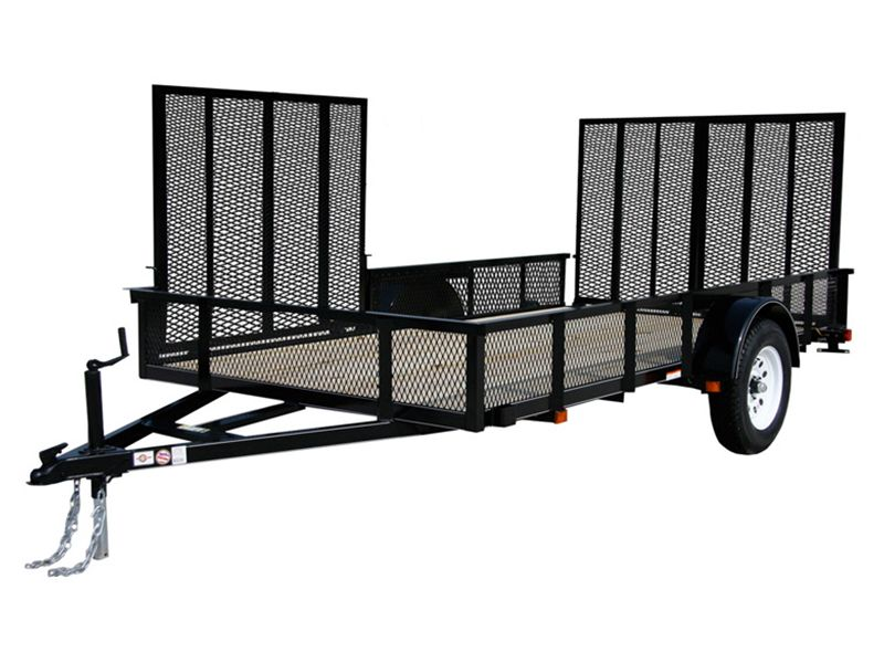 2018 Carry-On Trailers 6X12GWATVHS in Paso Robles, California