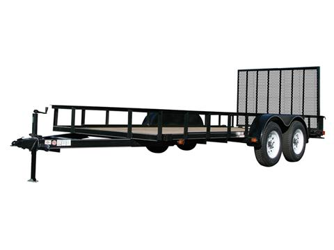 2018 Carry-On Trailers 6X14GW2BRK in Marietta, Ohio