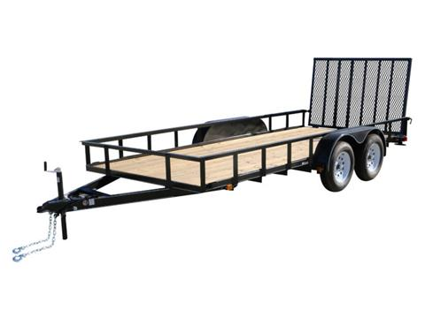 2018 Carry-On Trailers 6X16GW1BRK in Petersburg, West Virginia