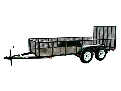 2018 Carry-On Trailers 6X16GWHS2BRK in Harrisburg, Pennsylvania