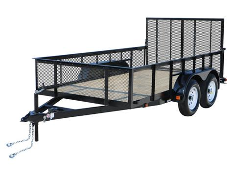 2018 Carry-On Trailers 7X14GWHS1BRK in Marietta, Ohio