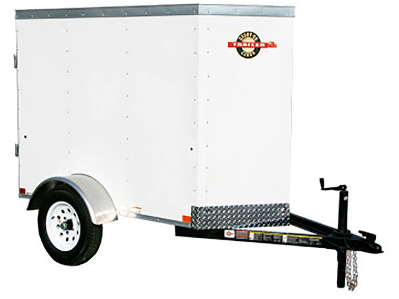 2019 Carry-On Trailers 4X6CGVEC-13 in Elk Grove, California
