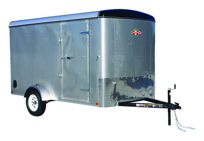 2019 Carry-On Trailers 6X12CGR-Silver in Kansas City, Kansas