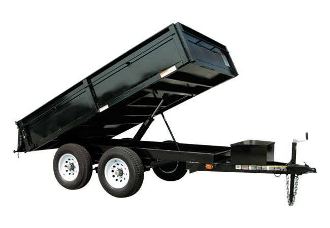 2019 Carry-On Trailers 6X10DUMPDO10K in Thornville, Ohio