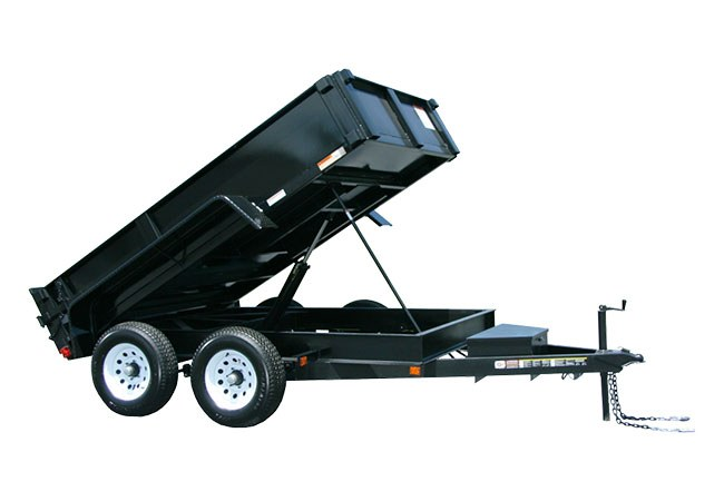 2019 Carry-On Trailers 6X10DUMPLP10K-24HS in Brunswick, Georgia