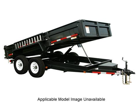 2019 Carry-On Trailers 7X12DUMPLP12K-24HS in Thornville, Ohio