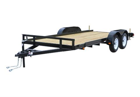 2019 Carry-On Trailers 7X16CH1BRK in Marietta, Ohio