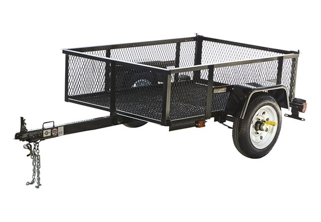 2019 Carry-On Trailers 3.5X5LSHS in Paso Robles, California