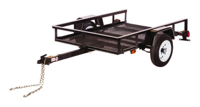 2019 Carry-On Trailers 4X8NG in Paso Robles, California