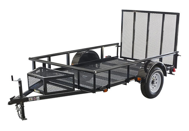 2019 Carry-On Trailers 5.5X9GPR in Petersburg, West Virginia