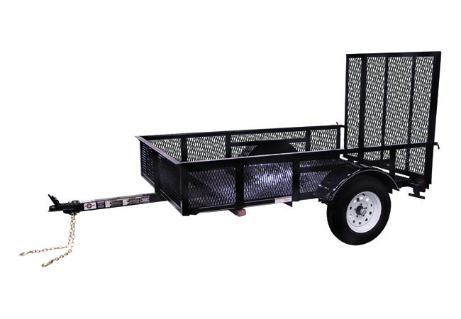 2019 Carry-On Trailers 5X8SPHS in Petersburg, West Virginia
