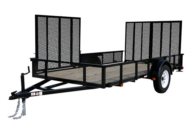 2019 Carry-On Trailers 6X12GWATVHS in Marietta, Ohio
