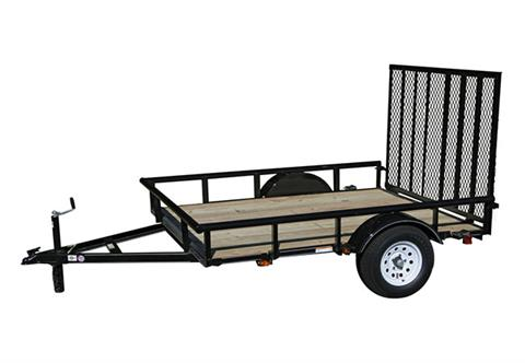 2019 Carry-On Trailers 6X8GW2KPT in Kansas City, Kansas