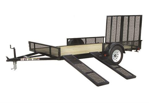 2019 Carry-On Trailers 7X12GWRS in Marietta, Ohio