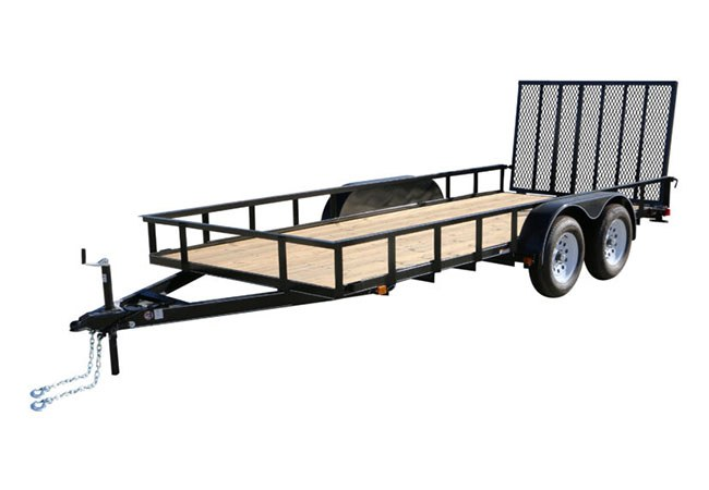 2019 Carry-On Trailers 7X16GW1BRK in Petersburg, West Virginia