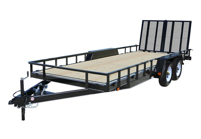 2019 Carry-On Trailers 7X16HDLAND in Paso Robles, California