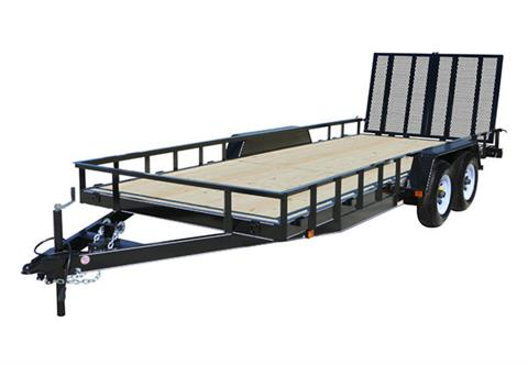 2019 Carry-On Trailers 7X16HDLAND in Marietta, Ohio