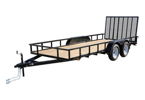 2019 Carry-On Trailers 7X18GW1BRK in Kansas City, Kansas