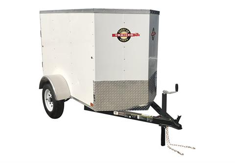 2020 Carry-On Trailers 4X6CGVEC-13 in Kansas City, Kansas