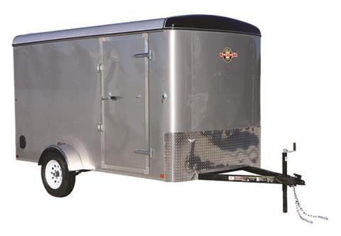 2020 Carry-On Trailers 6X12CGR-Silver in Kansas City, Kansas