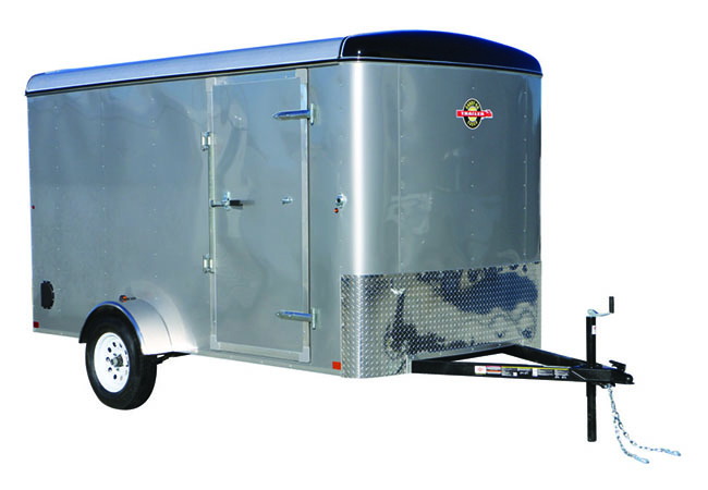 2020 Carry-On Trailers 6X12CGR-Silver in Harrisburg, Pennsylvania