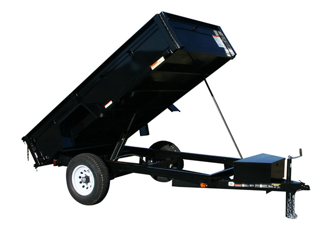 2020 Carry-On Trailers 5X8DUMPLP5K in Kansas City, Kansas