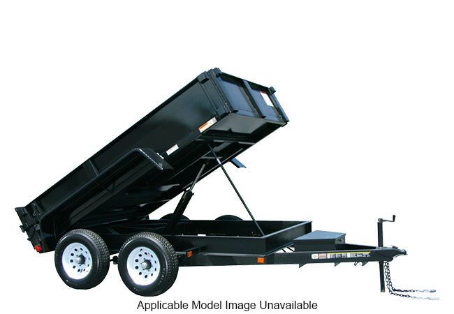 2020 Carry-On Trailers 7X14DUMPLP14K-24HS in Marietta, Ohio
