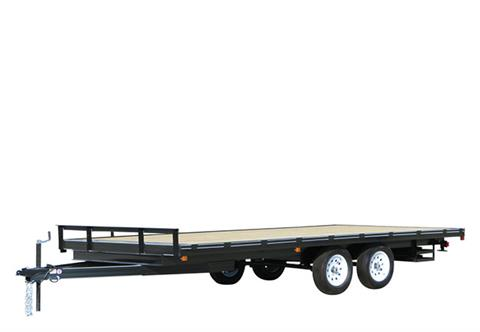 2020 Carry-On Trailers 8.5X18DO10K in Brunswick, Georgia