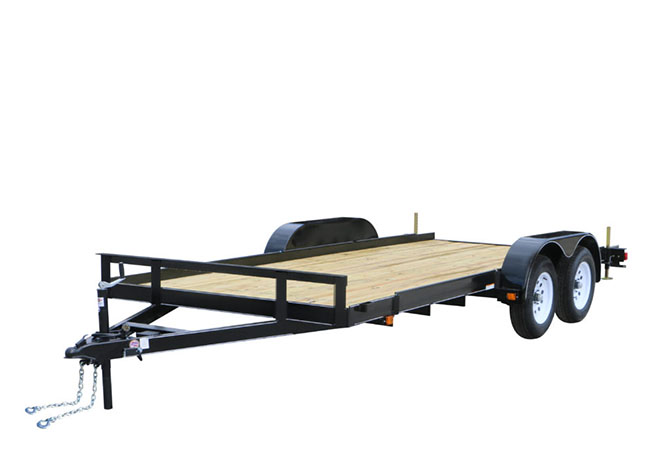 2020 Carry-On Trailers 7X16CH2BRK in Marietta, Ohio