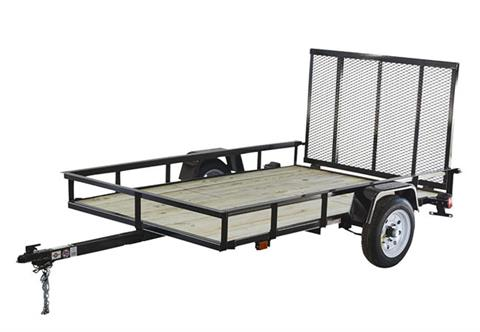 2020 Carry-On Trailers 5X8GW2K in Jesup, Georgia