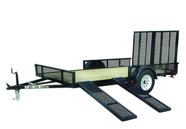 2020 Carry-On Trailers 6X12GWRS in Marietta, Ohio