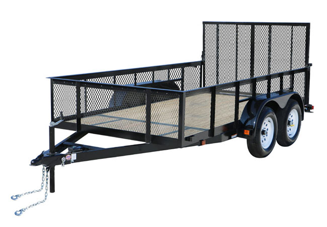 2020 Carry-On Trailers 6X20GWHS2BRK in Kansas City, Kansas