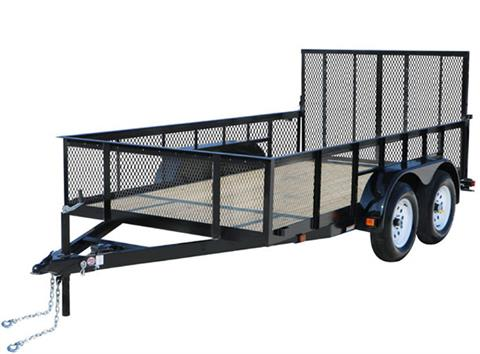 2020 Carry-On Trailers 7X12GWHS1BRK in Jesup, Georgia