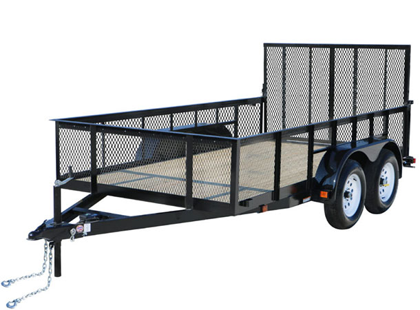 2020 Carry-On Trailers 7X12GWHS1BRK in Marietta, Ohio