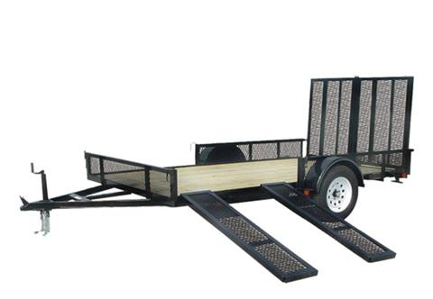 2020 Carry-On Trailers 7X12GWRS in Kansas City, Kansas