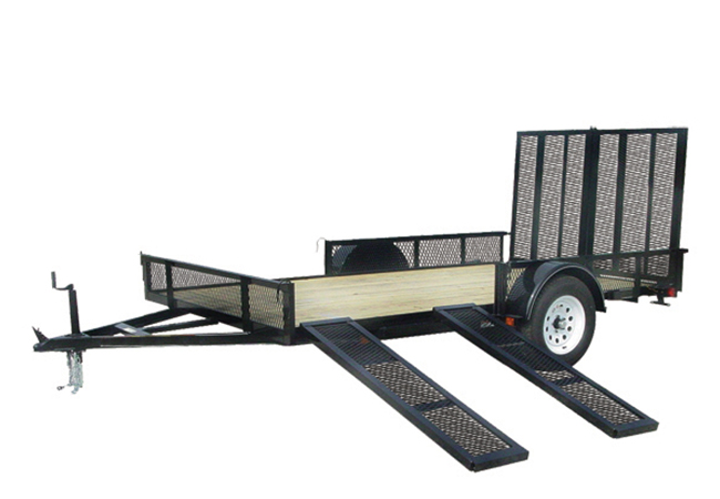 2020 Carry-On Trailers 7X12GWRS in Marietta, Ohio
