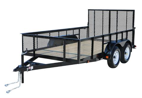 2020 Carry-On Trailers 7X14GWHS2BRK in Kansas City, Kansas