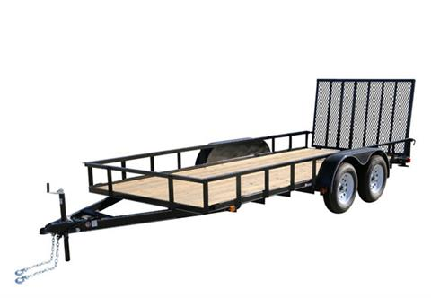 2020 Carry-On Trailers 7X18GW1BRK in Kansas City, Kansas