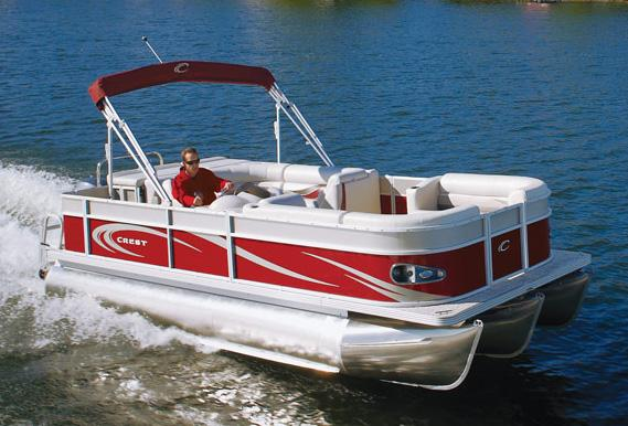 2011 Crest 230XR Classic in Manitou Beach, Michigan
