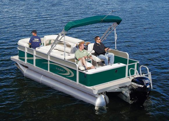 2011 Crest 250SF in Manitou Beach, Michigan