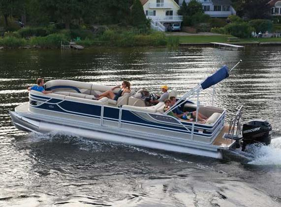 2012 Crest 250SL Caribbean in Manitou Beach, Michigan