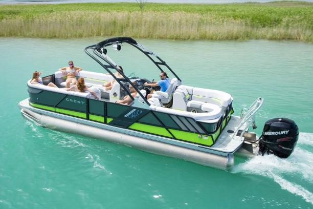 2017 Crest Caliber 230 SLC in Manitou Beach, Michigan