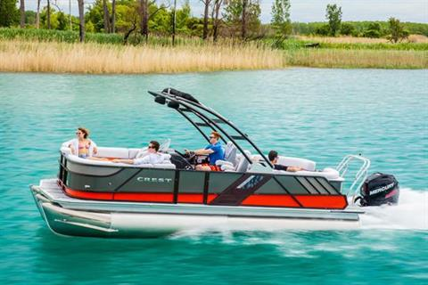 2018 Crest Caliber 230 SLRC in Manitou Beach, Michigan