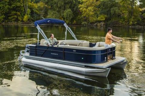 2018 Crest I Fish 220 SF in Manitou Beach, Michigan